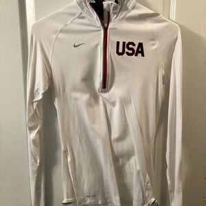 Nike USA 1/4zip pullover